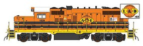 Intermountain EMD GP10 DC GNWR/L&D