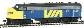Intermountain FP7 without Sound VIA Rail HO Scale Model Train Diesel Locomotive #49909