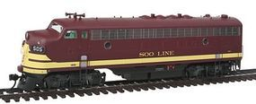 Intermountain EMD FP7 Phase I - Standard DC - Soo Line HO Scale Model Train Diesel Locomotive #49946
