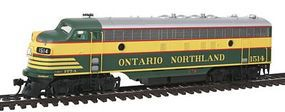 Intermountain EMD FP7 Phase I Standard DC Ontario Northland HO Scale Model Train Diesel Locomotive #49948