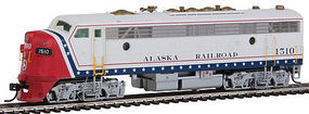 Intermountain FP7A without Sound Alaska Railroad HO Scale Model Train Diesel Locomotive #49965
