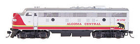 Intermountain FP9A without Sound Algoma Central HO Scale Model Train Diesel Locomotive #49991