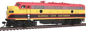 Intermountain EMD FP9 - Standard DC - Kansas City Southern HO Scale Model Train Diesel Locomotive #49996