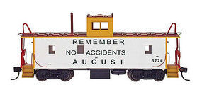 Intermountain CA-3/CA-4 Caboose Union Pacific Remember N Scale Model Train Freight Car #606801