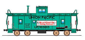 Intermountain CA-3/CA-4 Caboose Union Pacific MOW N Scale Model Train Freight Car #6073