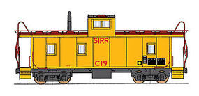 Intermountain CA-3/CA-4 Caboose SI N Scale Model Train Freight Car #6076