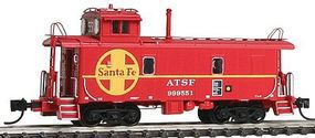 Intermountain Santa Fe Rebuilt Steel Cupola Caboose Santa Fe N Scale Model Train Freight Car #6094