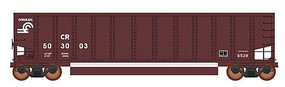Intermountain 13-Panel Coalporter Coal Gondola 6-Pack Ready to Run Value Line Conrail (Boxcar Red, white) N-Scale
