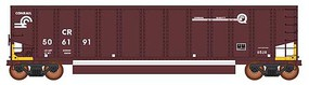 Intermountain 13-Panel Coalporter Coal Gondola 6-Pack Ready to Run Value Line Conrail (Boxcar Red, white, yellow EABS Markings) N-Scale