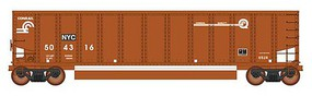 Intermountain 13-Panel Coalporter Coal Gondola 6-Pack Ready to Run Value Line Conrail NYC (Boxcar Red, white, Quality Logo) N-Scale