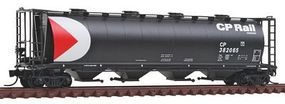 Intermountain 59 4-Bay Cylindrical Covered Hopper Canadian Pacific N Scale Model Train Freight Car #65208