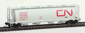 Intermountain Cyln Cvrd Hopp Rnd CN LtG - N-Scale