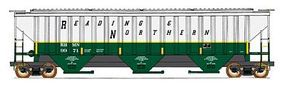 Intermountain 4750 Cubic Foot 3-Bay 18 Rib Covered Hopper N Scale Model Train Freight Car #65296