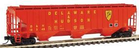 Intermountain PS2CD 4750 Cubic Foot 3-Bay Covered Hopper D&H N Scale Model Train Freight Car #65309