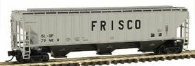 Intermountain PS2CD 4750 Cubic Foot 3-Bay Covered Hopper N Scale Model Train Freight Car #65322