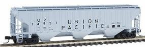 Intermountain PS2CD 4750 Cubic Foot 3-Bay Covered Hopper UP N Scale Model Train Freight Car #65326