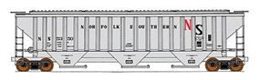 Intermountain PS2CD 4750 Cubic Foot 3-Bay Covered Hopper NS N Scale Model Train Freight Car #65338