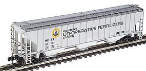 Intermountain PS2CD 4750 Cubic Foot 3-Bay Covered Hopper N Scale Model Train Freight Car #65340