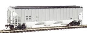 Intermountain PS2CD 4750 Cubic Foot 3-Bay Covered Hopper PTLX N Scale Model Train Freight Car #65346