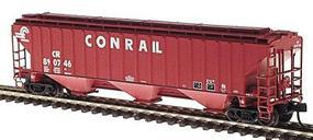 Intermountain PS2CD 4750 Cubic Foot 3-Bay Covered Hopper Conrail N Scale Model Train Freight Car #65347