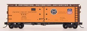 R-40-23 Steel Ice Reefer Pacific Fruit Express N Scale Model Train Freight Car #65501