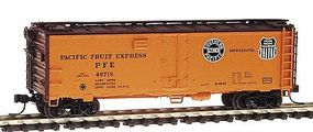 Intermountain R-40-23 Steel Ice Reefer Pacific Fruit Express N Scale Model Train Freight Car #65520