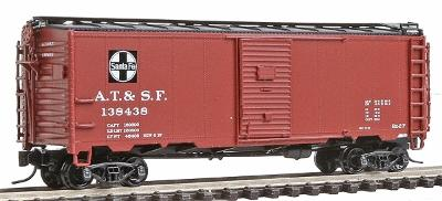 Intermountain Railway Company 1937 AAR 40' Boxcar Atchison, Topeka & Santa Fe -- N Scale Model Train Freight Car -- #65739