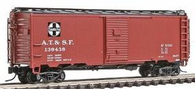 Intermountain 1937 AAR 40 Boxcar Atchison, Topeka & Santa Fe N Scale Model Train Freight Car #65739