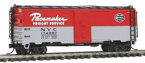 Intermountain Post-War 10 Inside-Height 40 Boxcar New York Central N Scale Model Train Freight Car #65775