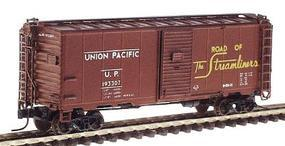 Intermountain AAR 40 106 Modified Boxcar - Ready to Run Union Pacific (Mineral Red w/yellow Lettering) - N-Scale