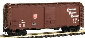 Intermountain Modified AAR 40 Box Car Canadian Pacific Newsprint N Scale Model Train Freight Car #65820