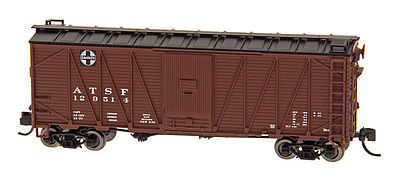 Intermountain Railway Company WWII Emergncy Boxcar ATSF -- N Scale Model Train Freight Car -- #66071
