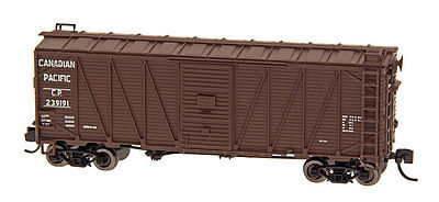 Intermountain Railway Company WWII Emergency Boxcar Canadian Pacific -- N Scale Model Train Freight Car -- #66075