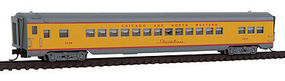 Intermountain CS Coach RTR Chicago & North Western Streamliner N Scale Model Train Passenger Car #6612