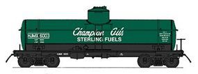 Intermountain ACF Type 27 Riveted 8000-Gallon Tank Car N Scale Model Train Freight Car #66329