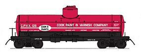 Intermountain ACF Type 27 Riveted 8000-Gallon Tank Car N Scale Model Train Freight Car #66334