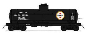 Intermountain ACF Type 27 Riveted 8000-Gallon Tank Car Koppers N Scale Model Train Freight Car #66340