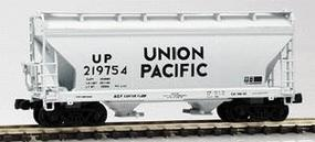 Intermountain ACF Cn Fl 2-Bay Hopper UP - N-Scale