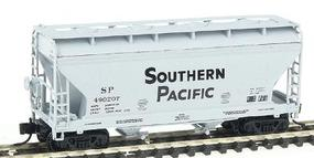 Intermountain ACF 2-Bay Center-Flow Covered Hopper - Ready to Run Southern Pacific (gray w/black Lettering) - N-Scale