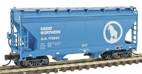 Intermountain ACF Cn Fl 2-Bay Hop GN - N-Scale