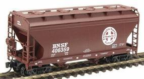 Intermountain ACF 2-Bay Center-Flow Covered Hopper BNSF N Scale Model Train Freight Car #66533