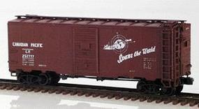 Intermountain Modified AAR 40 Boxcar Canadian Pacific N Scale Model Train Freight Car #66802