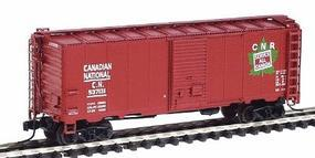 Intermountain Modified AAR 40 Boxcar Canadian National N Scale Model Train Freight Car #66806