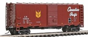 Intermountain Modified AAR 40 Boxcar Canadian Pacific N Scale Model Train Freight Car #66812
