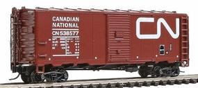 Intermountain Modified AAR 40 Boxcar Canadian National N Scale Model Train Freight Car #66813