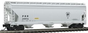 Intermountain ACF 4650 Cubic Foot 3-Bay Covered Hopper PRR N Scale Model Train Freight Car #67073