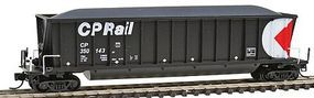 Bathtub Coal Gondola - Ready to Run - Canadian Pacific N Scale Model Train Freight Car #67101
