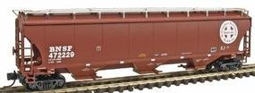 Intermountain Trinity 5161 Cubic Foot Covered Hopper BNSF N Scale Model Train Freight Car #67201