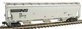 Intermountain Trinity 5161 Cubic Foot Covered Hopper Norfolk Southern N Scale Model Train Freight Car #67204