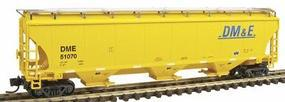 Intermountain Trinity 5161 Cubic Foot Covered Hopper DM&E N Scale Model Train Freight Car #67205